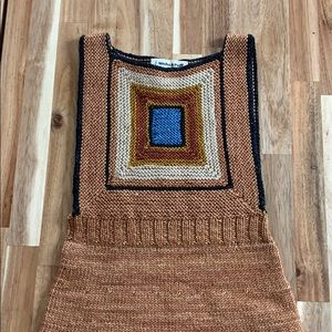 Gorgeous Misha & Puff log cabin knit jumper dress